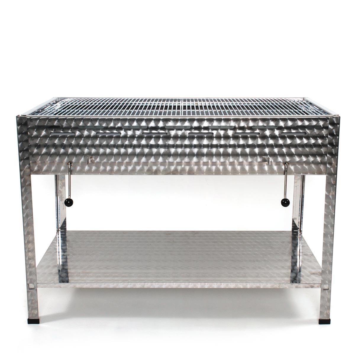 v2a edelstahl holzkohlegrill profi grill bbq verein. Black Bedroom Furniture Sets. Home Design Ideas