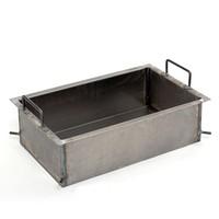 Stahlpfanne 15cm tief für 1-flamm. Grill/Bräter