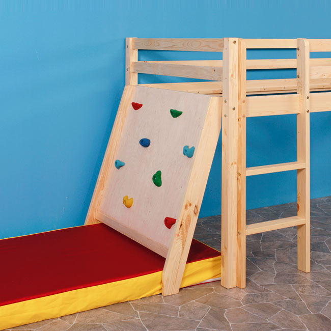 kletterwand enterhilfe zubeh r f r rutschen spielbett. Black Bedroom Furniture Sets. Home Design Ideas