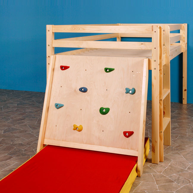 kletterwand enterhilfe zubeh r f r rutschen spielbett hochbett etagenbett ebay. Black Bedroom Furniture Sets. Home Design Ideas