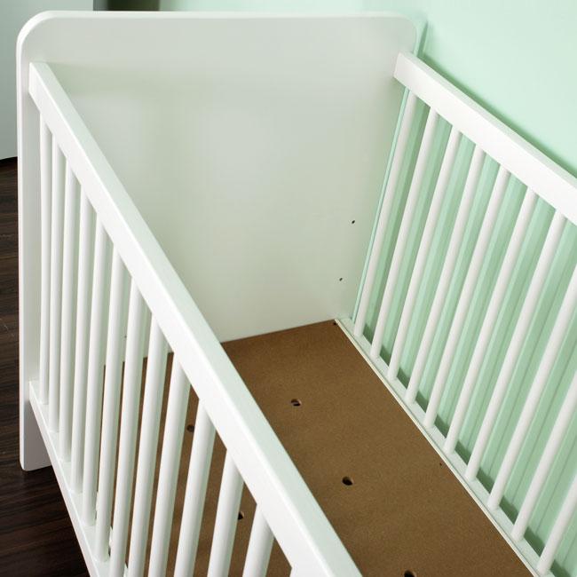 babybett sch fchen ohne bettkasten. Black Bedroom Furniture Sets. Home Design Ideas