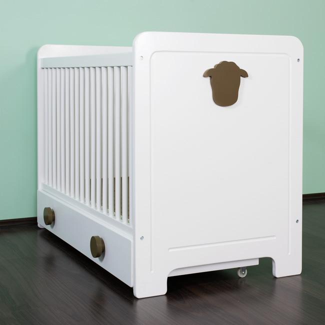 babybett gitterbett baby bett kinder sch fchen mit. Black Bedroom Furniture Sets. Home Design Ideas
